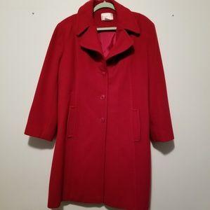 💫New listing Worthington red trench coat